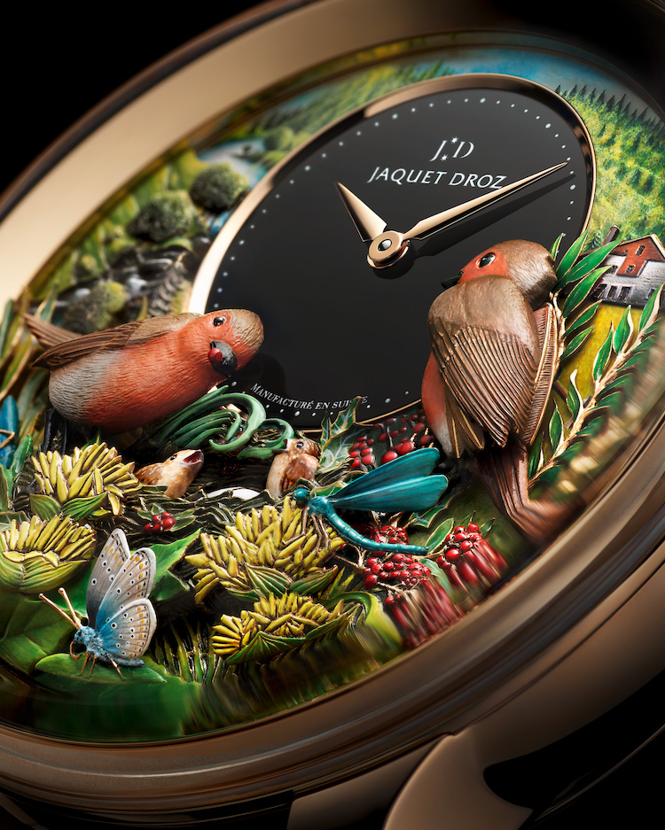 """Jaquet Droz Bird Repeater """"300th Anniversary Edition"""""""