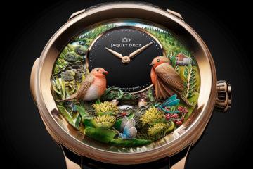 Jaquet Drop Bird Repeater 300th anniversary