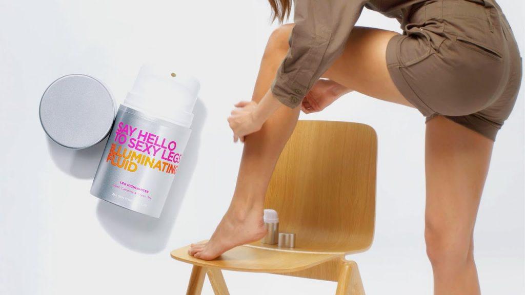 make-up gambe say hello to sexy legs illuminante
