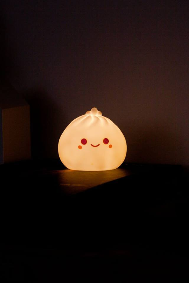 raviolo cinese lampada da notte illuminata
