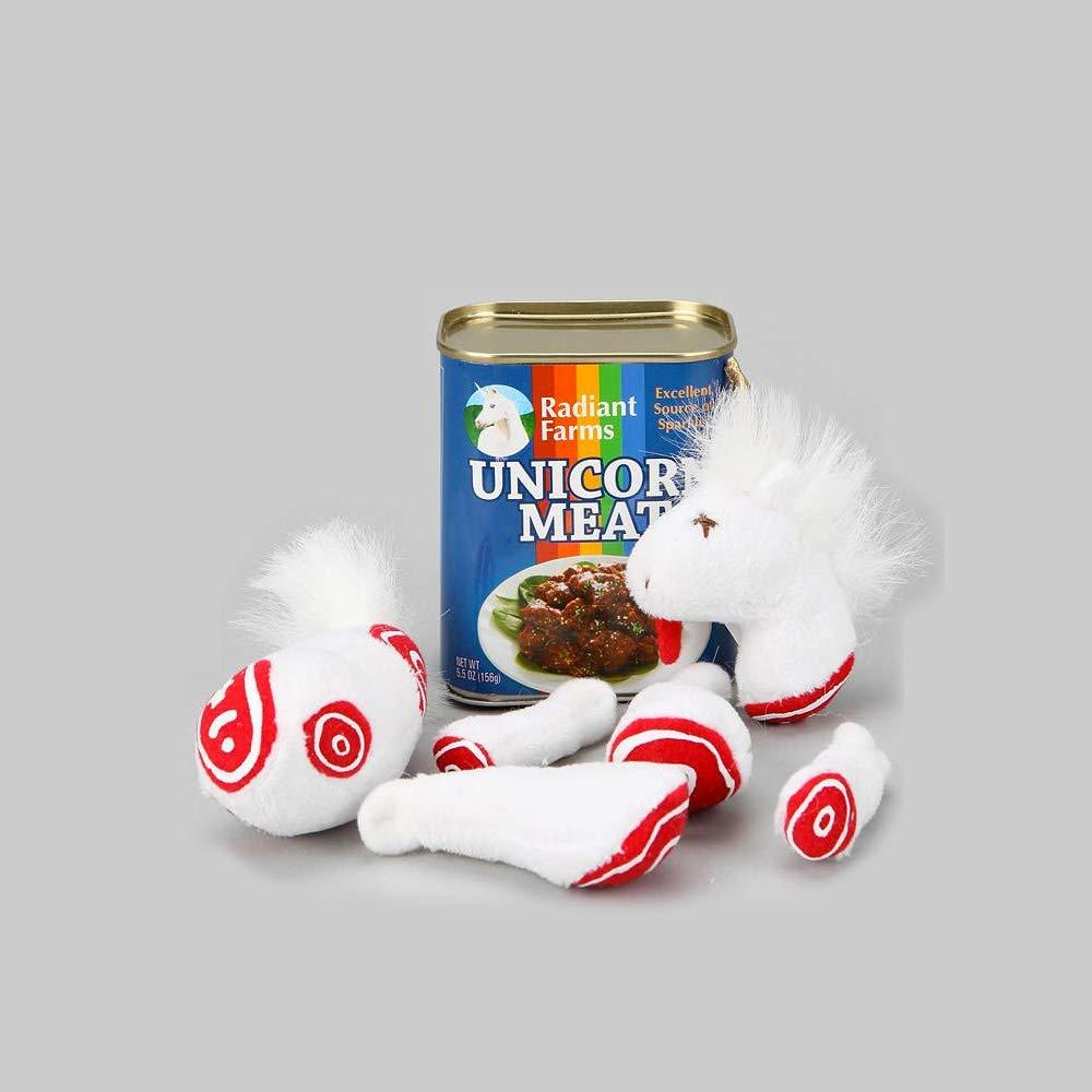 carne di unicorno in scatola contenuto