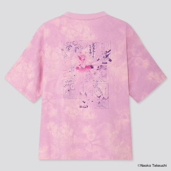Sailor Moon per Uniqlo T-shirt pink graphic