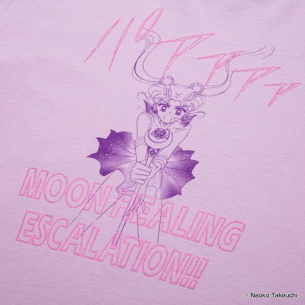 Sailor Moon per Uniqlo T-shirt pink