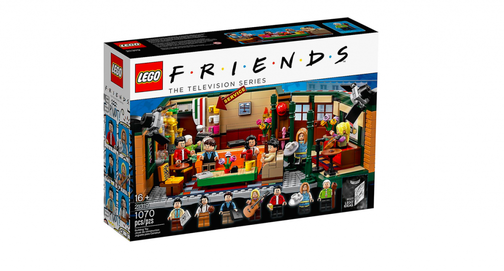 Lego Friends Central Perk scatola