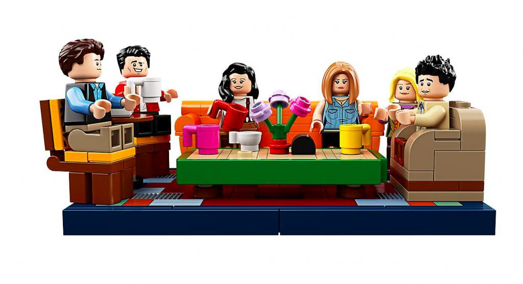 Lego Friends Central Perk personaggi