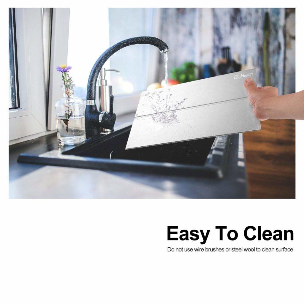 teglia per scongelare facile da pulire