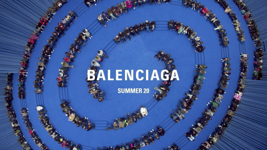 Balenciaga primavera estate 2020 sfilata