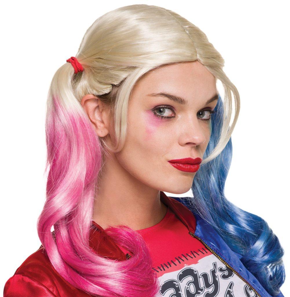 Halloween 20119 Amazon Harley Quinn parrucca